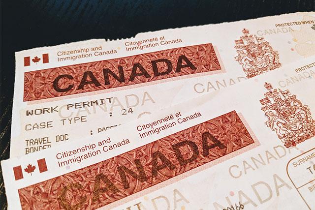Canada Work Permit TR to PR